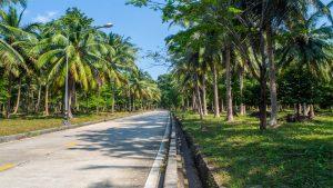 Roads in Koh Phangan, Thailand