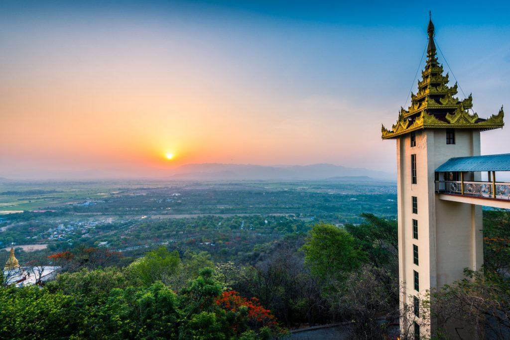 Mandalay Hill, Myanmar