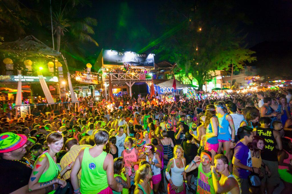 Full Moon Party, Koh Phangan, Thailand