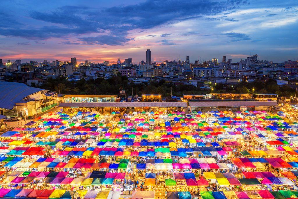 Ratchada Night Train Market, Bangkok