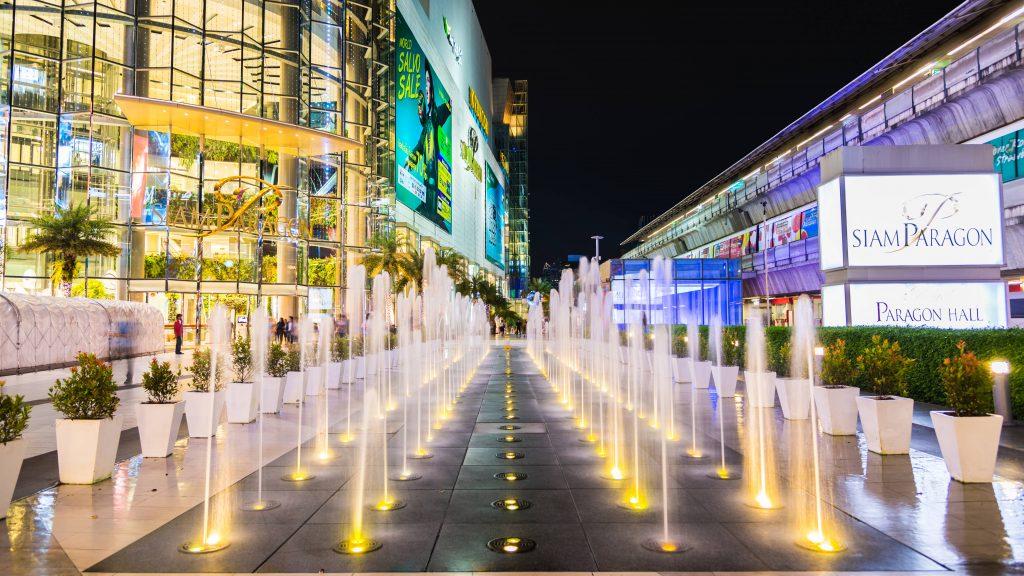 Siam Paragon Mall, Bangkok, Thailand
