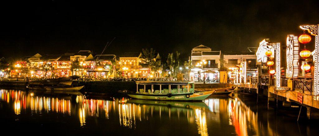Hoi An, Vietnam by night
