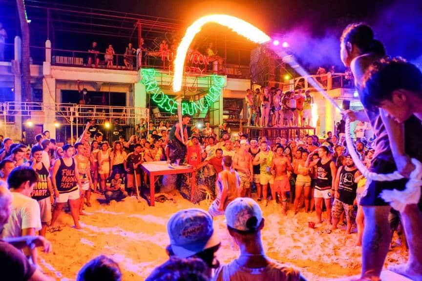 Fire dance, Full Moon Party, Koh Phangan