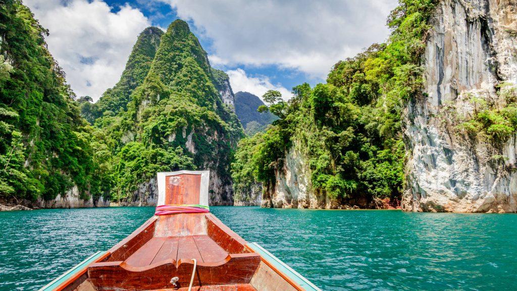 Khao Sok boat ride