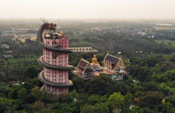 Wat Samphran, Bangkok, Thailand