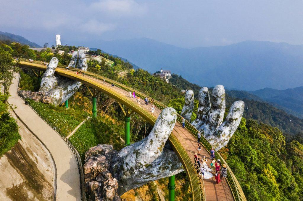 Golden Bridge, Ba Na Hills, Vietnam