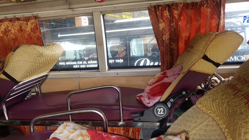 Bus from Sapa to Halong Bay
