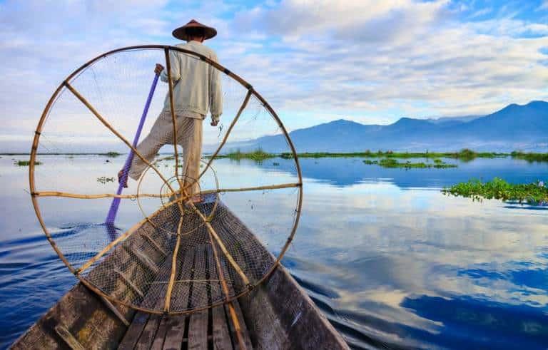 Inle Lake Fisherman, Myanmar