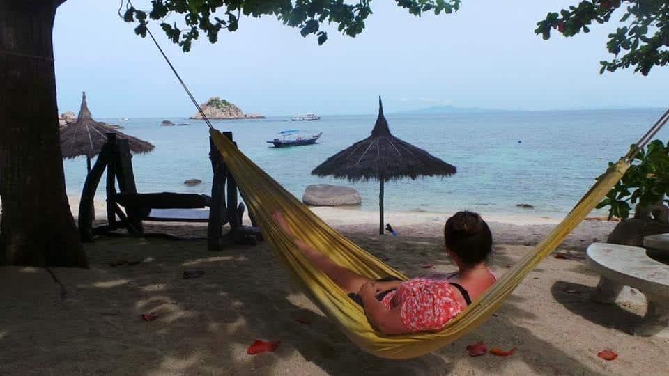 Katie of Untold Wanderlust in Koh Phangan