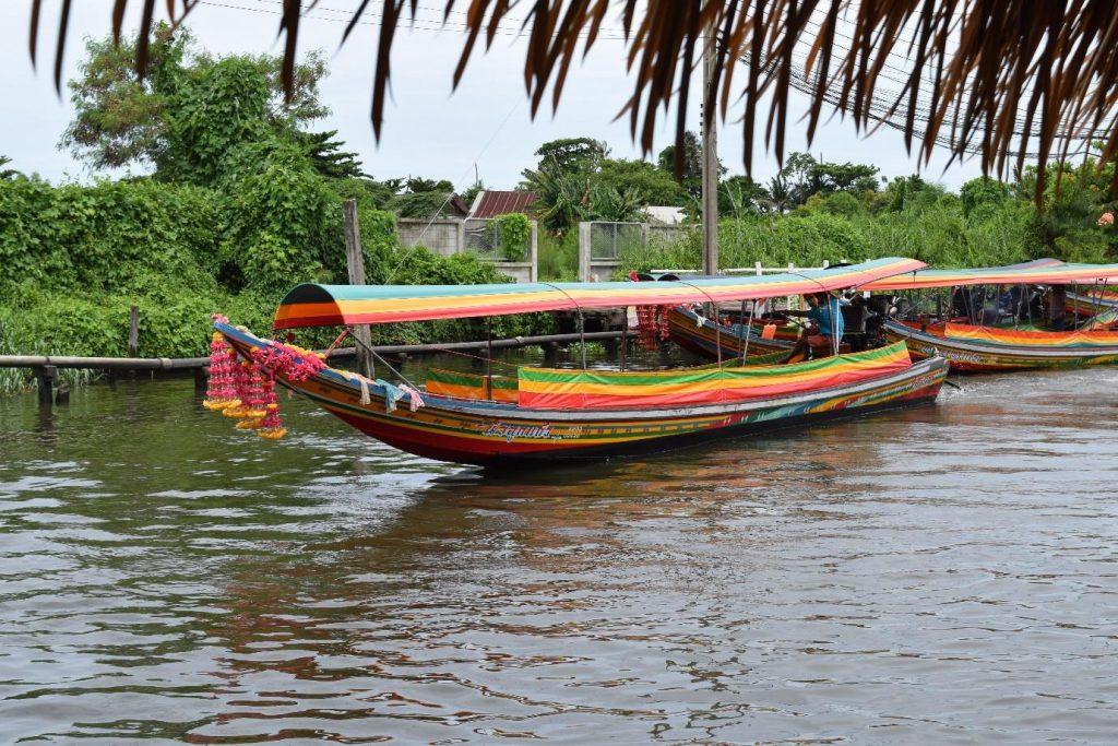 Longtail boat ride, Khlong Lat Mayon Market