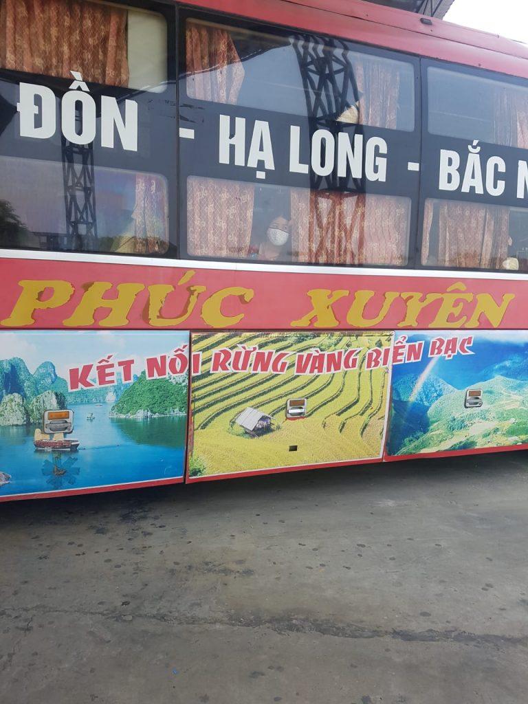 Sapa to Halong Bay sleeper bus