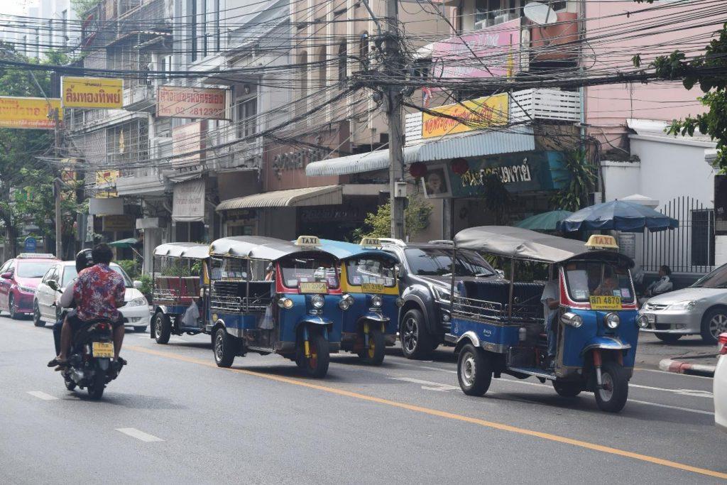 Tuk tuks in Bangkok, Thailand