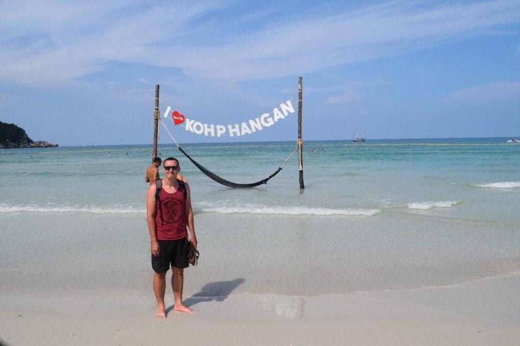 Beach in Koh Phangan, Thailand