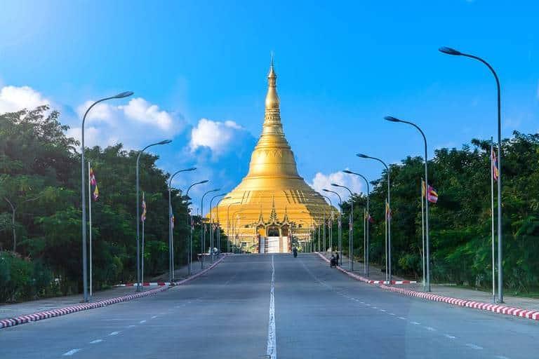 Uppatasanti Pagoda, Naypyidaw, Myanmar