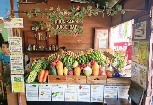 Khunkae's Juice Bar, Chiang Mai, Thailand
