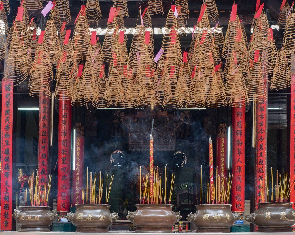 Ba Thien Hau Pagoda, HCMC, Vietnam