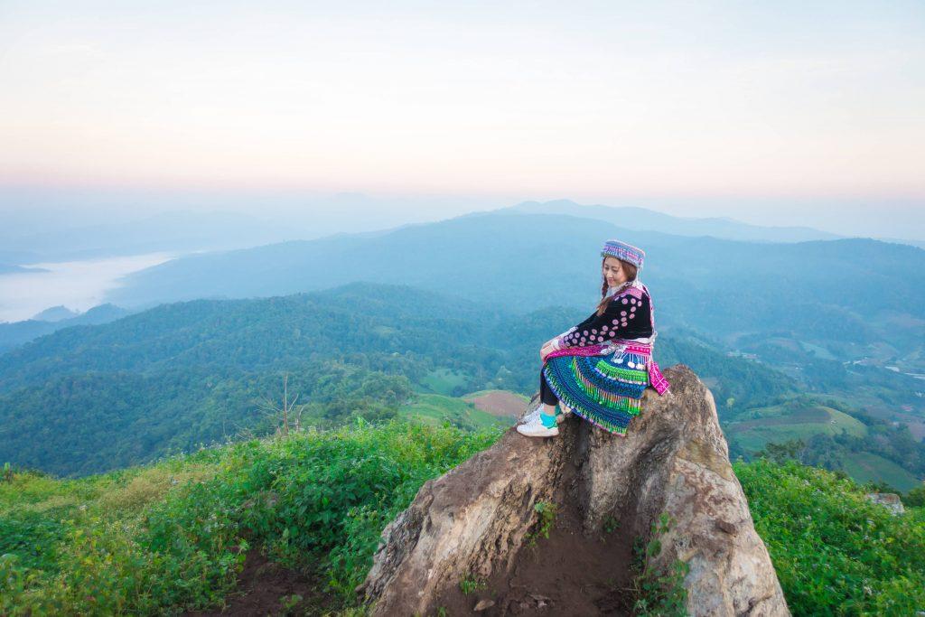 Hmong tribe woman