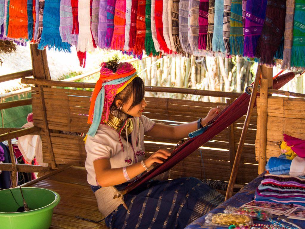 Karen woman, Chiang Mai, Thailand