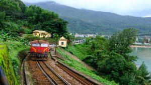 Train from Da Nang to Hue, Vietnam