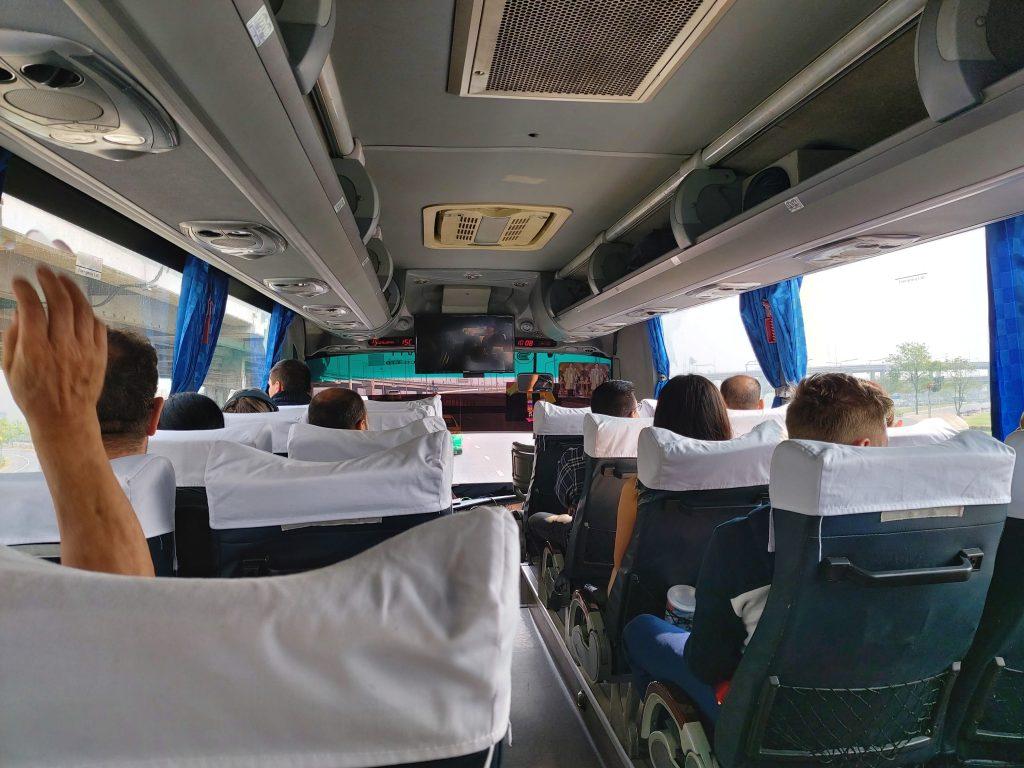 Bell Travel bus from Bangkok to Pattaya