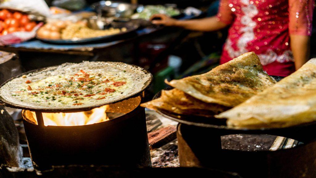 Burmese street food