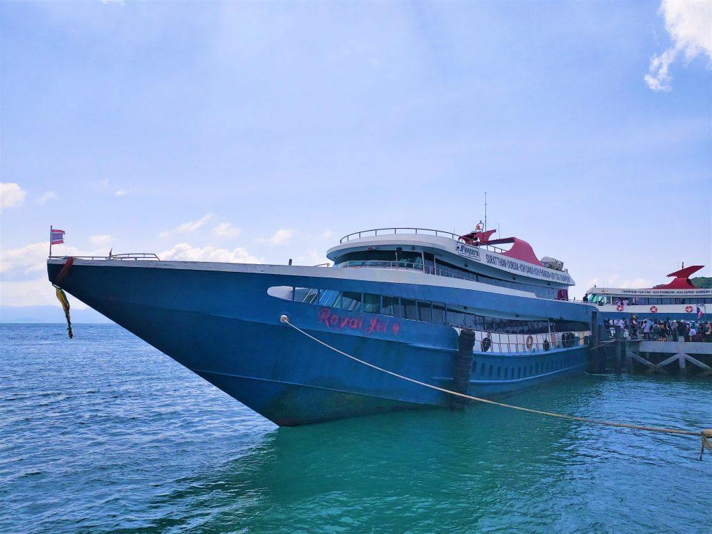 Ferry from Koh Phangan to Ao Nang