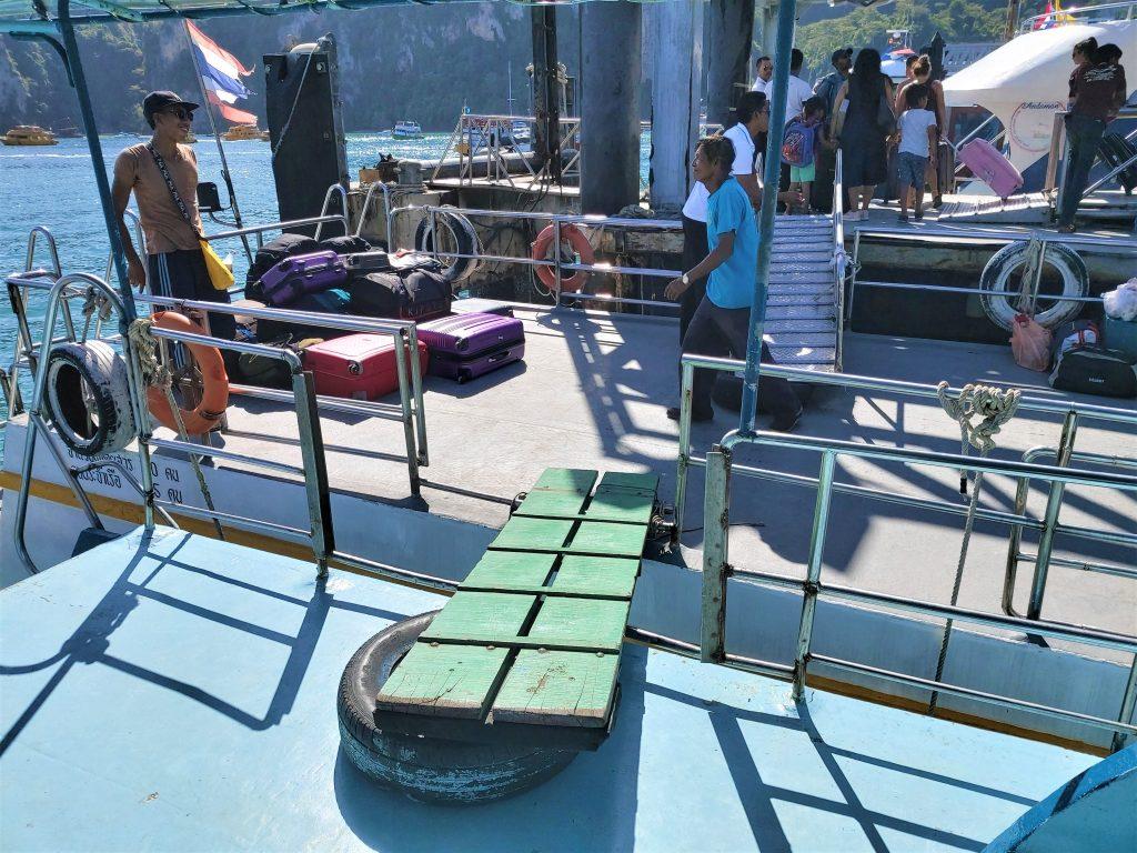 Ferry gangplank