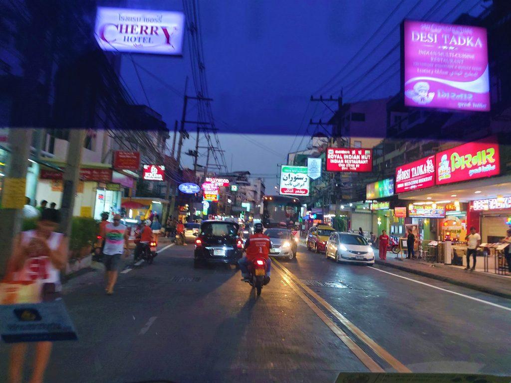 Pattaya city streets
