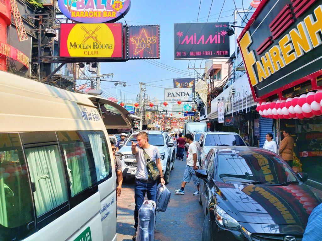 Pattaya's walking street