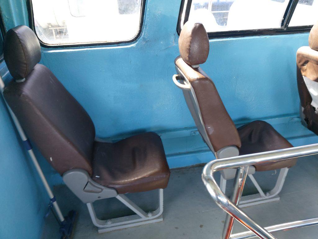 Upper deck seats, Koh Phi Phi-Koh Lanta ferry