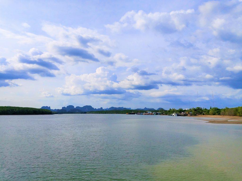 View from Krabi's Khlong Jirad Pier
