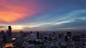 View of Sathorn, Bangkok