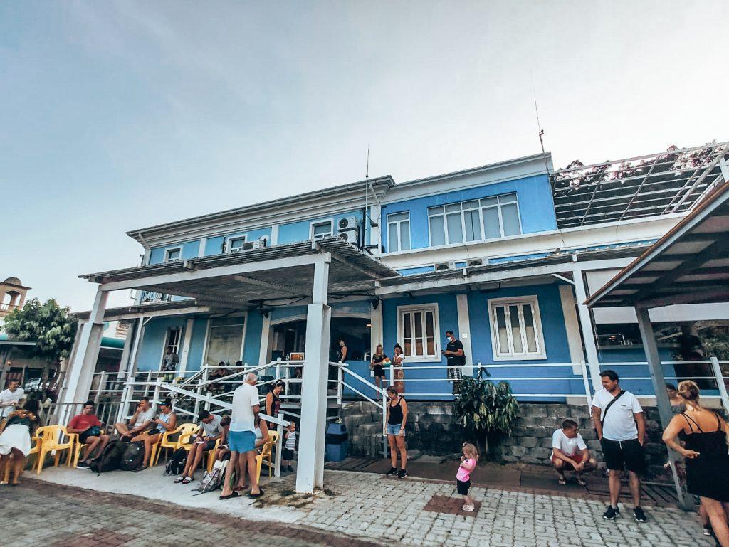 Langkawi harbour building