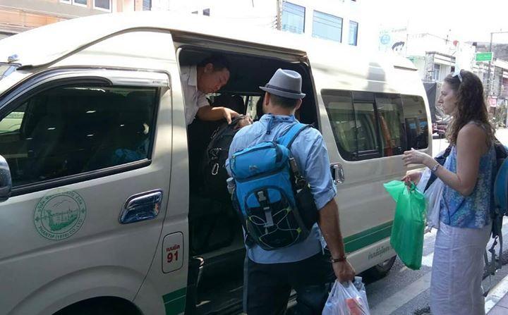 Lancha Autobús + transbordador