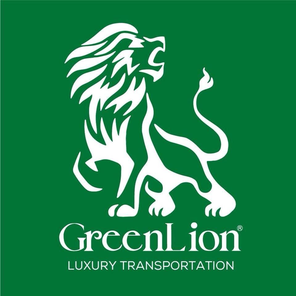 Green Lion Bus logo