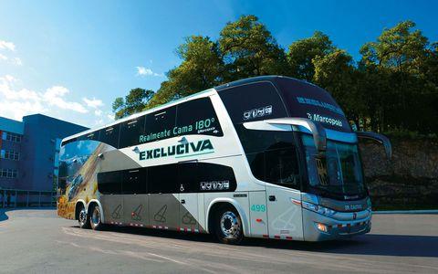 180 Reclining Seats bus