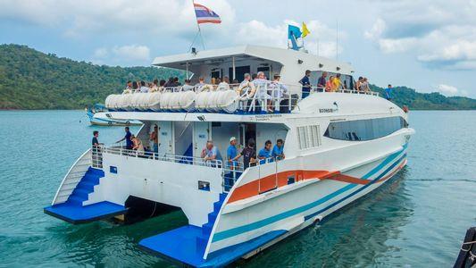 High Speed bus-ferry