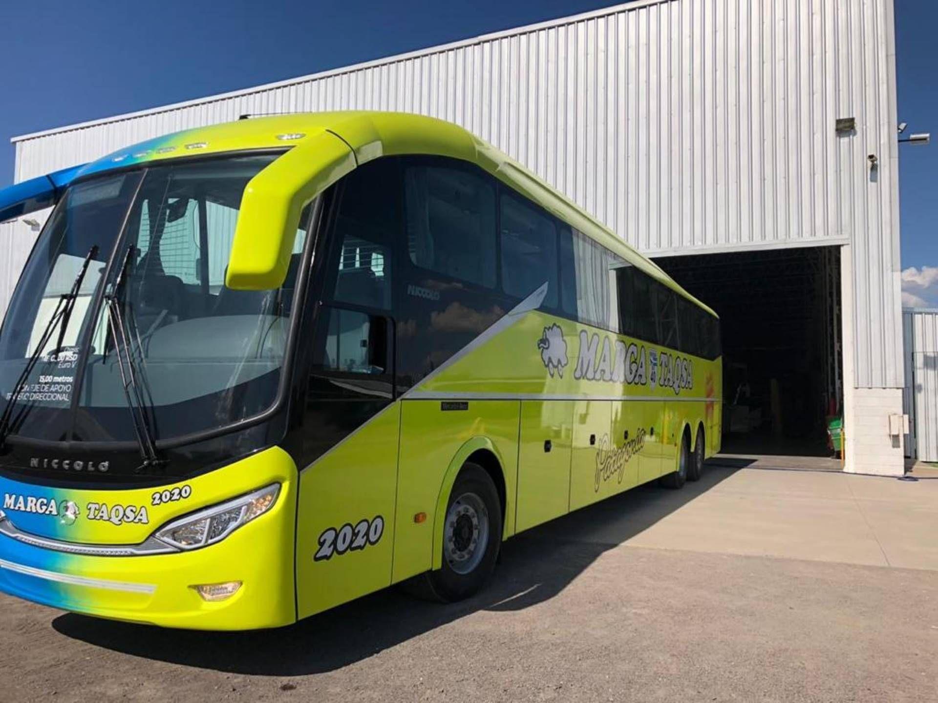 180 Liegesitze Bus