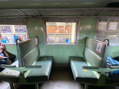 Second Class Seat Treno