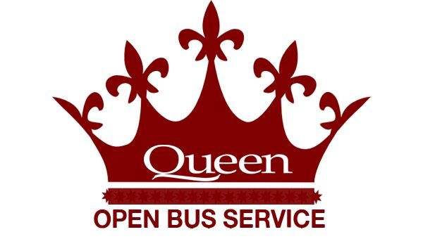 Queen Cafe Bus logo